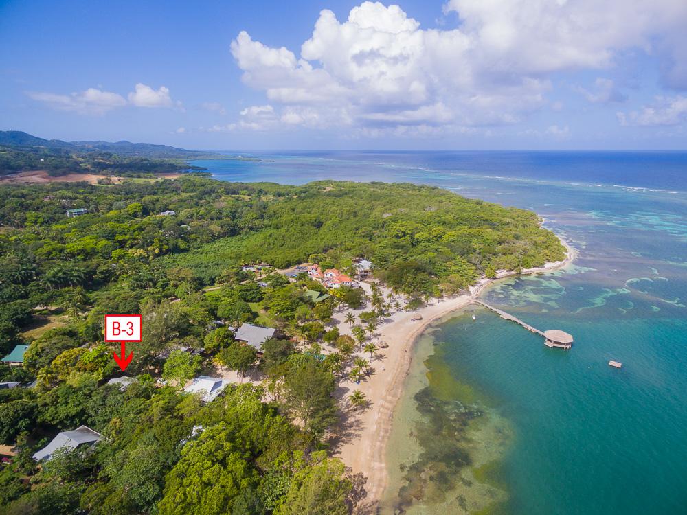 Beachfront Villa B3 Palmetto Bay, Roatan