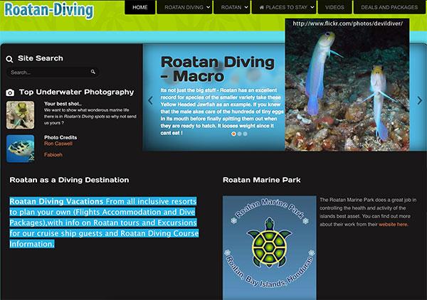 Roatan Diving, Roatan